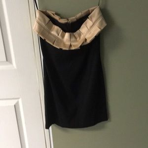 Alyn Paige New York black cocktail dress